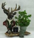 Mett-mari-inspiration-dekoration-potte-blomster-bonbonier-byste-hjort-toej-fin-duftspreder-irret-lys-fyrfadsstage-guld-sort-groen-370×436
